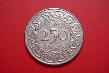 SURINAME 250 CENTS 1989