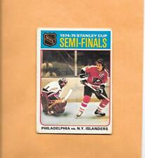 HOCKEY CARDS-75/76 OPC #2 STANLEY CUP SEMI-FINALS