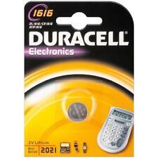 Pile bouton Duracell CR1616  3V LITHIUM DL1616
