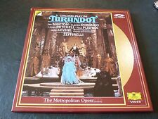 VIDEO LASER DISC  =    TURANDOT    -   PUCCINI   THE METROPOLITAN OPERA