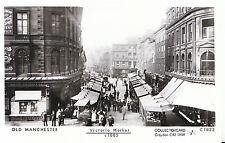 Lancashire Postcard - Old Manchester - Victoria Market c1885 - Ref.2045
