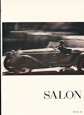 1931 Alfa Romeo 1750 Car Print Article J326