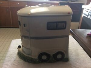 Montana Lifestyles Horse Trailer Cookie Jar - Horse Chip Cookie - Large