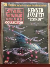 STAR WARS GALAXY COLLECTOR #1 (1998 TOPPS) NM ACTION FIGURE PRICE GUIDE W/POSTER