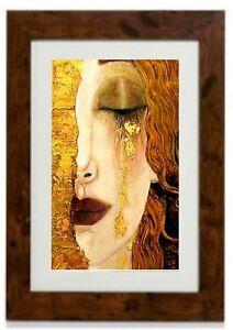 """""""Golden Tears"""" Framed Print By Gustav Klimt"""