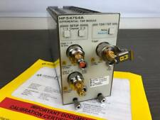 Agilent 54754A Differential Single Ended Tdr/Tdt Module 86100 A B C D, Mfg Cal'd
