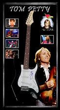 Tom Petty Signed & Framed Guitar JSA James Spence Full Letter COA #BB04468