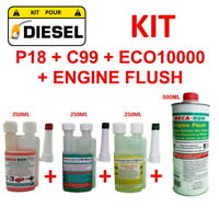 "MECARUN - KIT ADDITIF TRAITEMENT ""DIESEL"" P18+C99+ECO10000+ENGINE FLUSH"