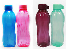 Tupperware BPA Free Eco Drink Water Bottle (2) 500ml + FREE Shipping