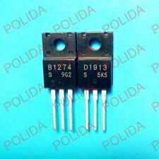 1pairs OR 2PCS SANYO TO-220F 2SB1274-S/2SD1913-S 2SB1274/2SD1913 B1274/D1913