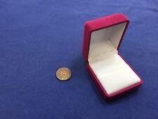 RING BOX DISPLAY JEWELRY VELOUR Earring Wedding Engagement Pendant Velvet c17