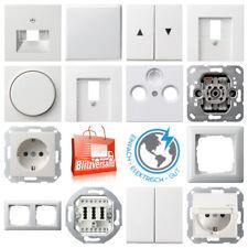 Gira System 55 reinweiß glänzend Schalter/ Steckdose/ UP/ Rahmen/frei auswählbar