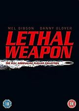 Lethal Weapon: The Complete Collection (4 Disc Box Set) [1987] [DVD] [2005],,