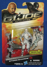 "GI Joe Cobra Storm Shadow 4"" Action Figure Retaliation 2011 MOC Hasbro Ninja 118"