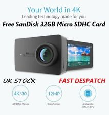 "Yi 4K Sports Action Camera 12MP SONY MX377 1080P 120fps Wifi 2.19"" Screen 4K"
