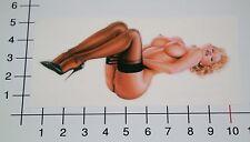 PIN UP BEAUTY Aufkleber Sticker Retro Rockabilly Vintage Sexy Girl Lady V8 Pu065