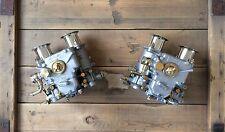2x 40 DCOE Double Carburateur Avec rodage Entonnoir BMW FIAT ALFA ROMEO LANCIA Weber