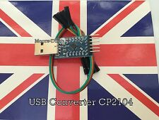 USB 2.0 to TTL UART 6PIN Module Serial Converter CP2104 STC Replaced CP2102 UK