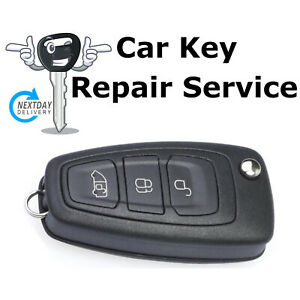 Repair Service for Ford Transit Custom Tourneo Connect 3 Button Remote Key Fob