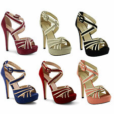 Unbranded Stiletto Strappy Evening Shoes for Women
