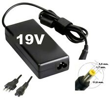 Alimentatore caricabatteria per ACER e GATEWAY 19V con SPINOTTO 5.5x1.7