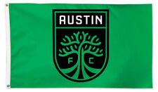 AUSTIN FC New Texas MLS Soccer Team Official Huge 3'x5' Banner FLAG by Wincraft