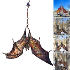 Bat Wind Catcher Spinner Sculptures Yard Windmill Garden Ornaments Yard Art New