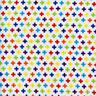 Plus Signs Fun White Quilt Sew Fabric TIMELESS TREASURES
