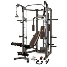Marcy Combo Smith Heavy-Duty Total Body Strength Home Gym Machine | 4008