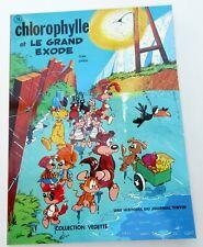 CHLOROPHYLLE ET LE GRAND EXODE DUPA GREG COLL VEDETTE 1973 BROCHE NEUF