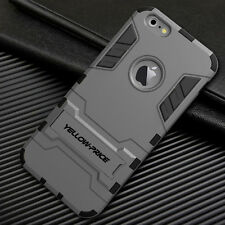 Heavy Duty Shockproof Hybrid Hard+Soft Armor Case Stand Cover for iPhone 6S Plus
