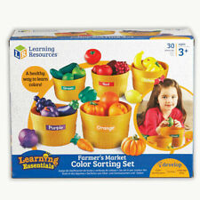 LEARNING RESOURCES FARMERS MARKET COLOR SORTING SET 3060