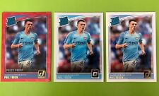 2018-19 Panini Donruss Phil Foden Optic Base Red Rated Rookie Lot Man City