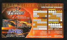 Salem-Keizer Volcanoes--2001 Magnet Schedule--NWL-Giants Affiliate