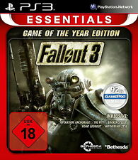 SONY PS3 Fallout 3 - Game of the Year UNCUT GOTY PlayStation 3 Weltuntergang