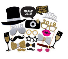2018 New Year's Eve Party Supplies Christmas Masks Photo Booth Props Decoration