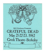 Grateful Dead - Blank Laminate - May 1982 Greek Theatre shows