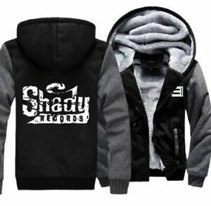 New Eminem Slim Shady Mens Women's Hoodie Zipper Coat Winter Jacket Sweatshirts