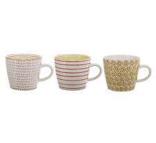 Tasse mit Henkel 'Susie' Keramik Kaffetasse Teetasse handbemalt Bloomingville