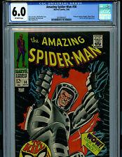 Amazing Spider-man #58 CGC 6.0 1968 Silver Age Marvel Comic K20