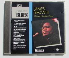 JAMES BROWN . LIVE AT CHASTAIN PARK . LES GÉNIES DU BLUES . CD