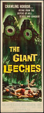 Attack Of The Giant Leeches Movie Poster Insert 14x36 Replica