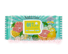 Japan BCL Saborino Morning Care 3-in-1Refresh Fruity Face Mask 32 sheets~w/Gift~