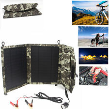 10w 12v solar battery  usb Foldable charger for Car Auto  Motorbike mp3