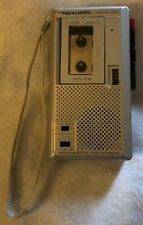 New listing Realistic Micro-18 2-Speed Voice Micro-Cassette Recorder Tested