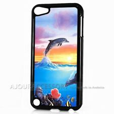 ( For iPod Touch 6 ) Back Case Cover AJ10119 Dolphin