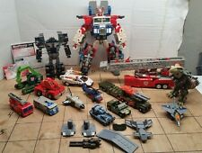 Transformers Robots In Disguise Lot optimus prime. Car robots. Ruination