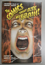 THE COMICS THAT ATE MY BRAIN ! 1991 MALIBU GRAPHICS 1st Print New!!