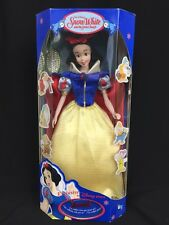 Disney Store Snow White Doll With Necklace Just For You London Exclusive 11""