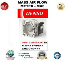 DENSO MAF MASS AIR FLOW METER SENSOR 2268053J00 for NISSAN PRIMERA LARGO SUNNY